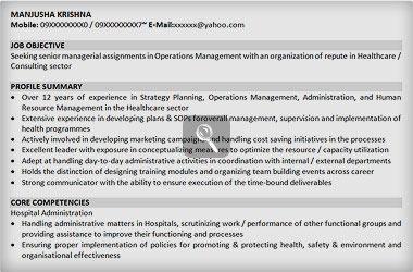 manager resume samples sample resume for senior level naukri com