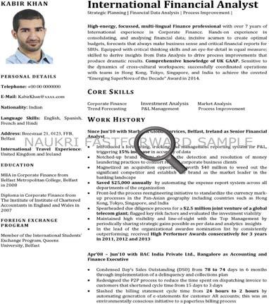 cv format cv samples resume format naukrigulf com