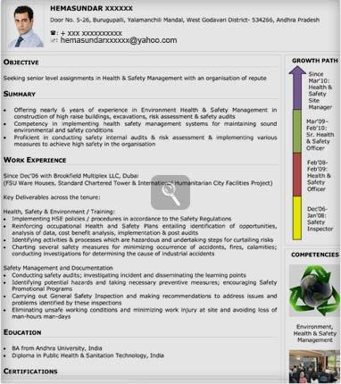 visual cv samples visual sample cv naukrigulf com
