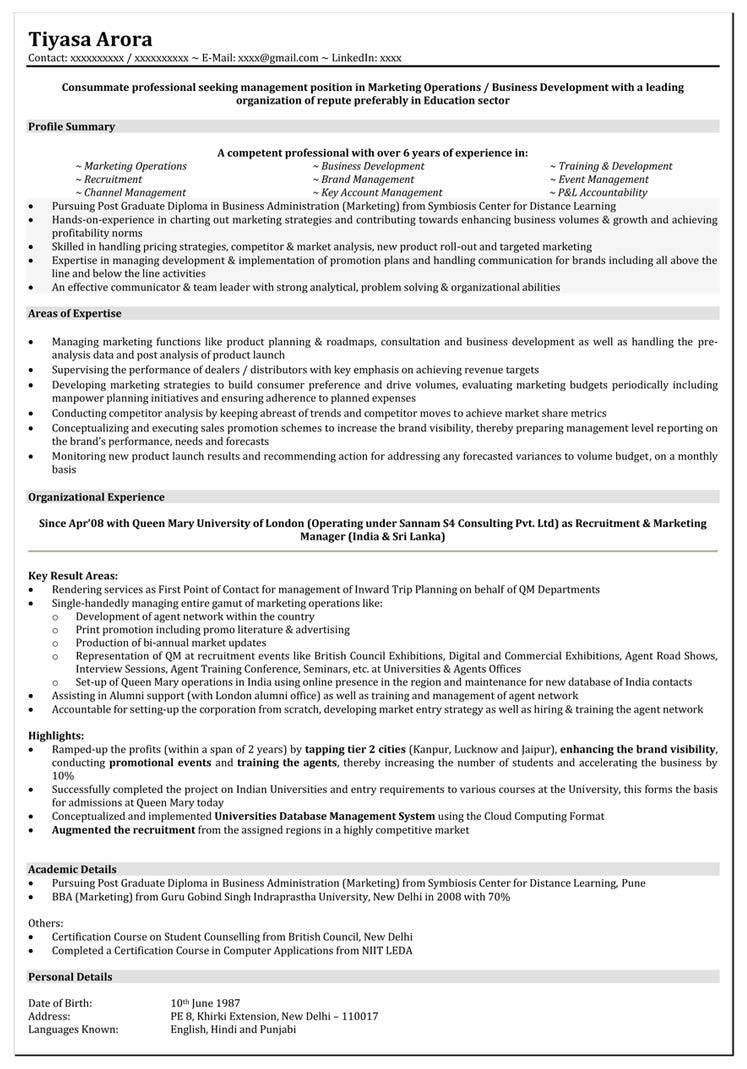 resume samples for marketing jobs lafolia eu