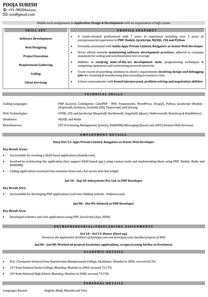 java developer resume sample sample java resume java developer throughout amazing best resume samples aploon