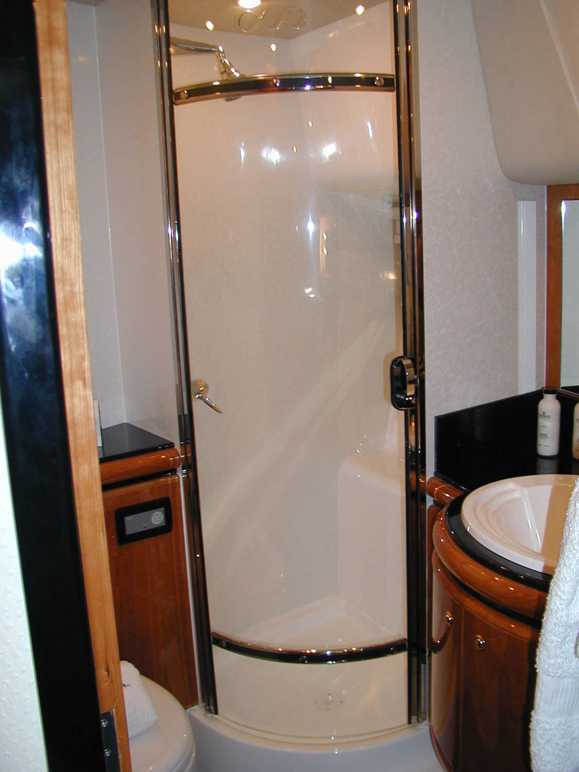 Yacht Door Sliding Curved Shower Trend Marine Products