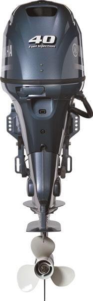 Moteur Hors Bord F40 Yamaha Outboard Motors Essence Plaisance 4 Temps