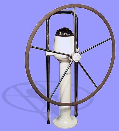 colonne de barre a roue pour voilier