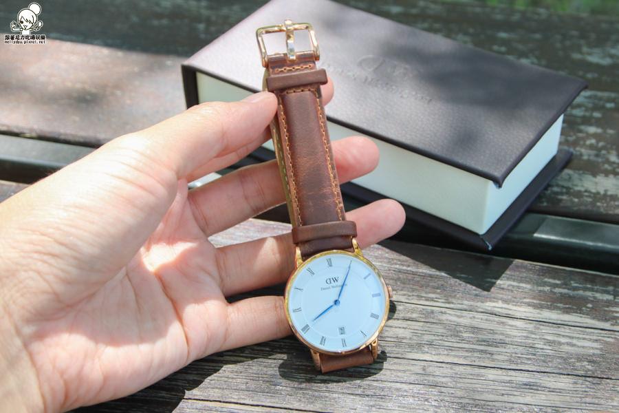 DW手錶 精品 皮革 白色-5810.jpg