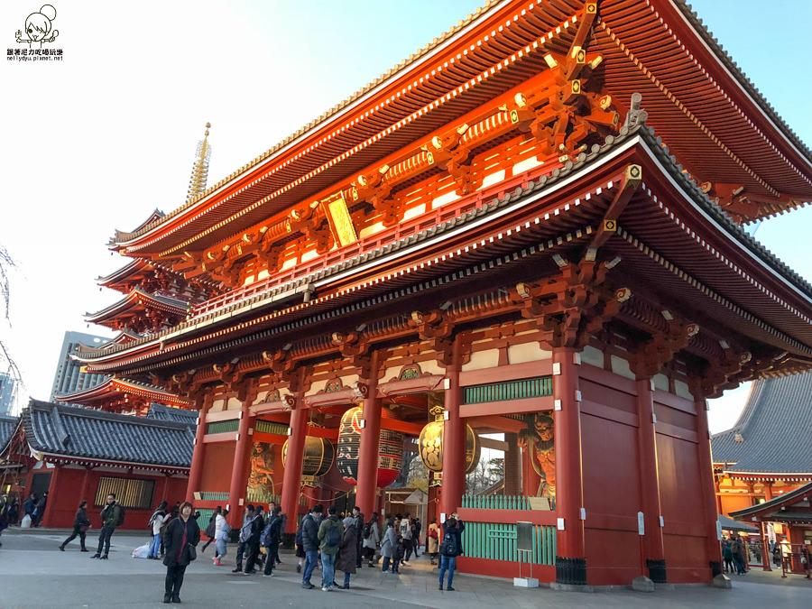 初訪日本東京熱門景點雷門X 浪漫燈光Tokyo Sky Tree 晴空塔