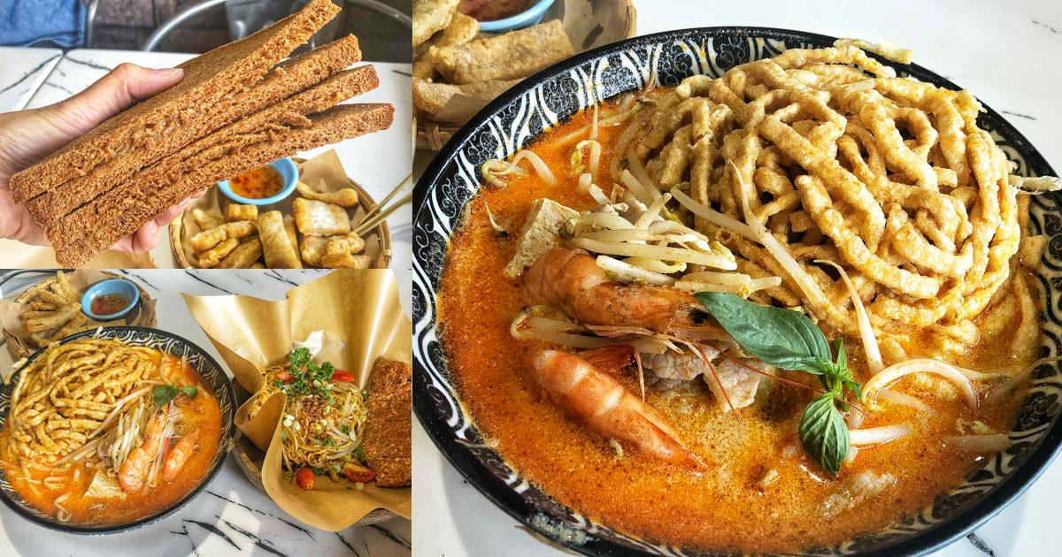 南洋風味、創意料理之好運商行,叢林風網美用餐環境 x 好運商行、好運土司