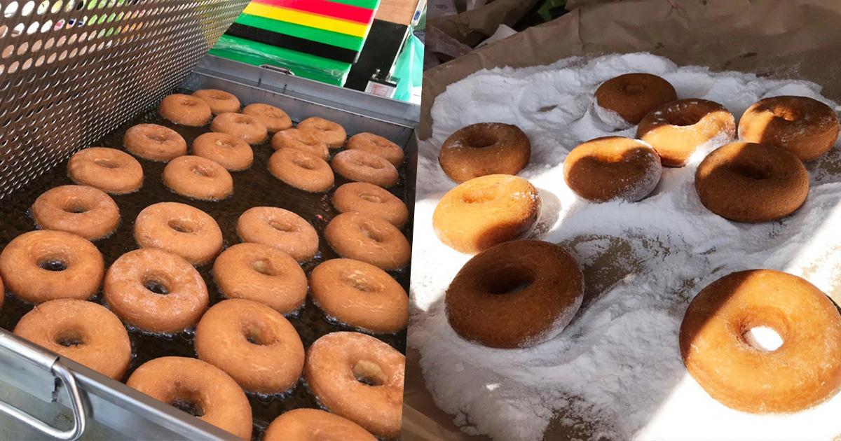 原來是霧台神山小米甜甜圈,軟Q香濃口感、甜點下午茶