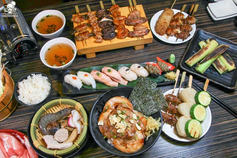 親民價位銅板串燒、日式丼飯、生魚片之日式料理,不傷荷包聚會首選 誠炭手串本舖