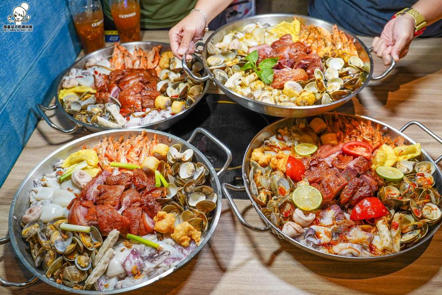 狂!全台唯一澳門豬肉海鮮煲就在高雄春囍打邊爐,海鮮無限續加、限時吃到飽