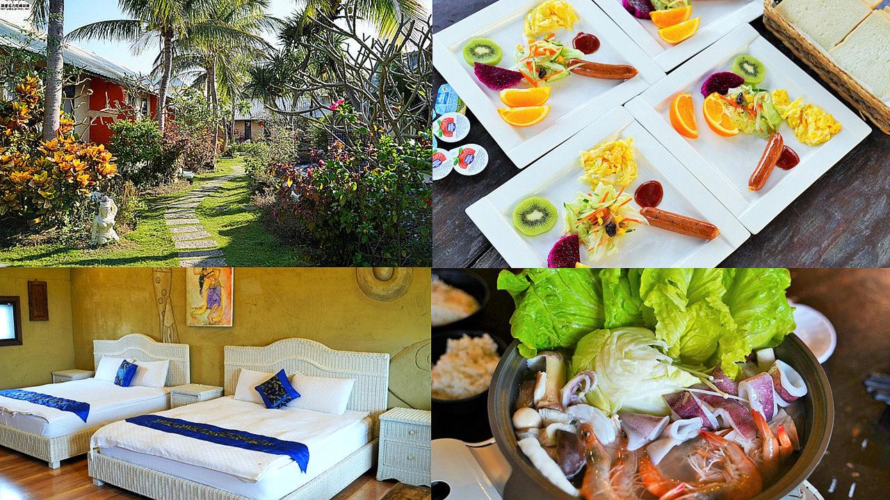 南洋度假風情讓你一秒飛出國,平價 班卡拉度假旅店|墾丁、恆春住宿