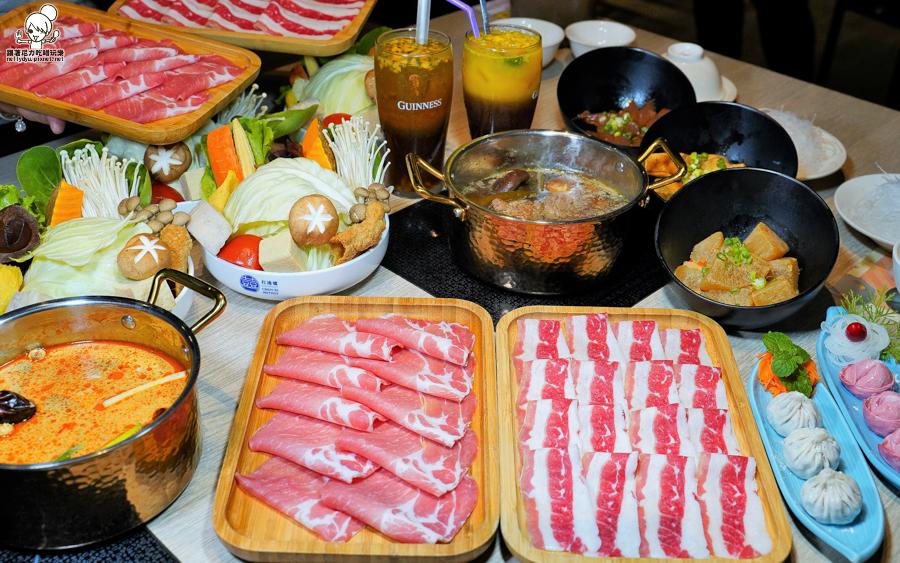 超狂打卡50元肉盤歡樂吃、強勢推出港式剝皮辣椒雞鍋、個人經濟套餐|春囍打邊爐