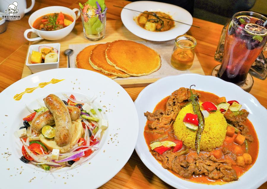 道地異國料理、世界咖哩大賞美食,療癒叢林風 烏拉森林歐風餐館