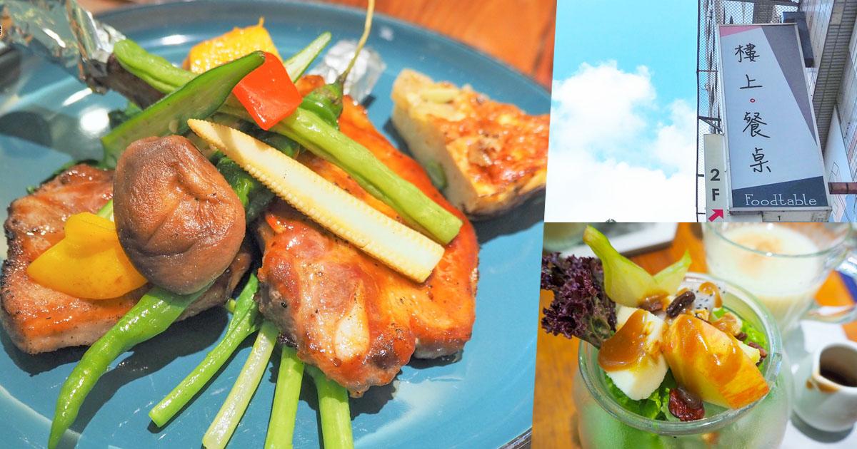 北高雄隱藏二樓的早午餐、季節性美食,樓上餐桌 早午餐BRUNCH(對!二樓)
