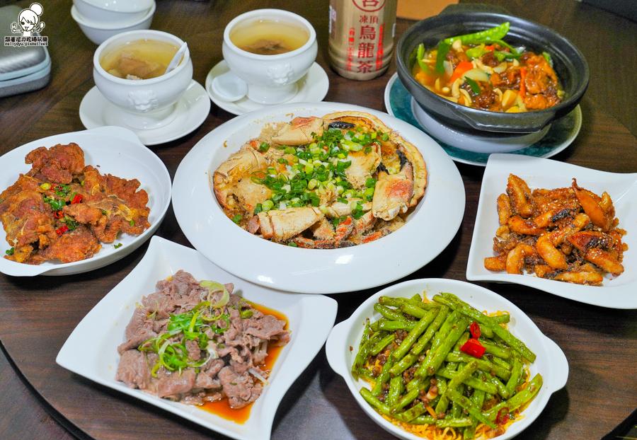 超肥美巨大螃蟹正港鮮美滋味,功夫料理菜色開胃下飯|聚餐推薦 品粵小館