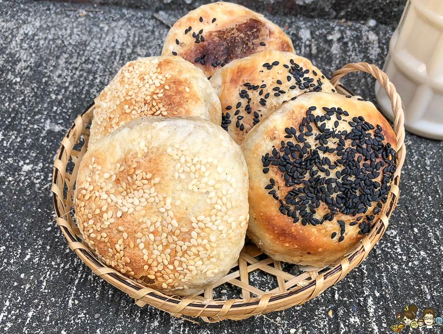 眷村滋味的燒餅、酥餅早餐就在左營老牌豆漿