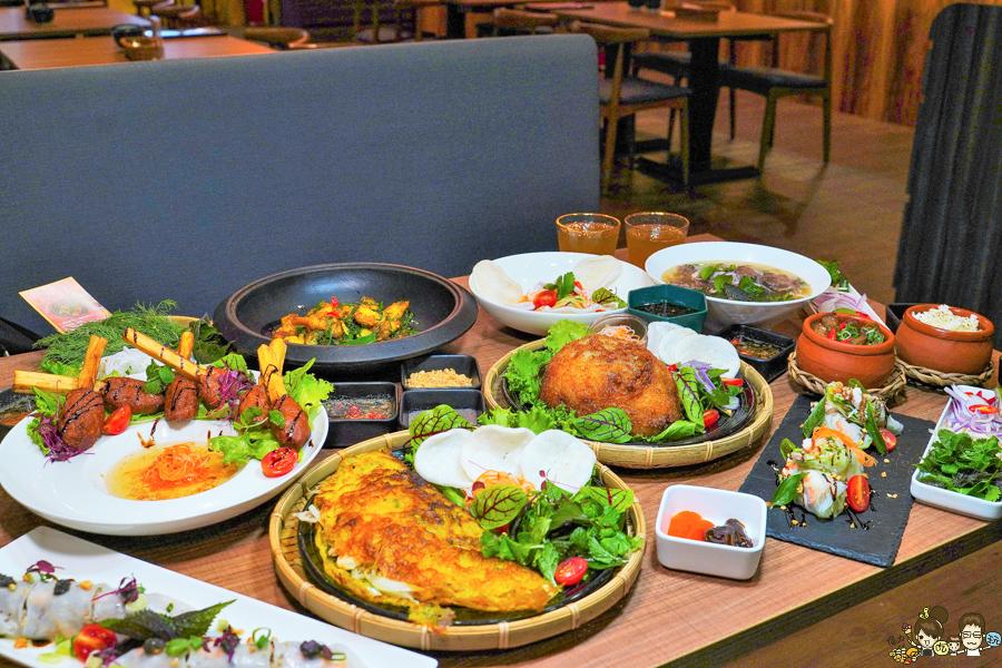 新潮時尚道地南洋風味餐點,品細膩層次風味 會安越南料理 x 文山特區聚餐|越南料理第一品牌