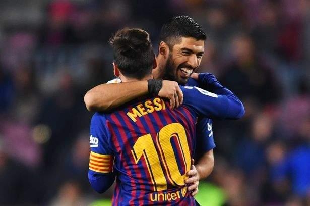 Messi Suarez Vs Leganes Jan2019