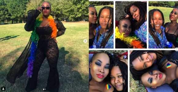 Charly Boys Daughter Dewy And Her Partner SJ Celebrate Their First Pride As A Couple Photos