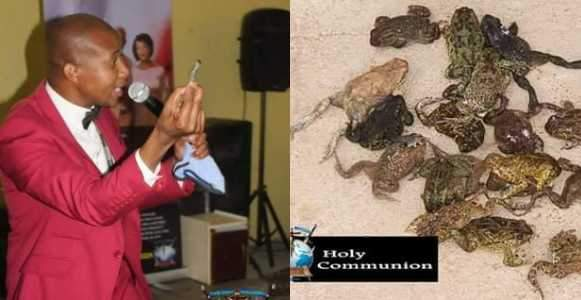 Snake Pastor Feeds His Congregation Dog Meat And Frogs To Heal HIV And Cancer Photos