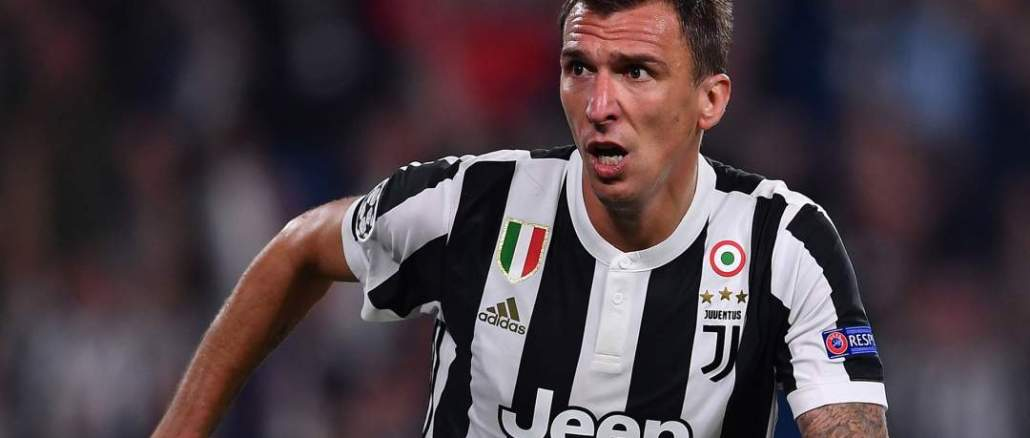 Juventus Striker, Mandzukic chooses Man Utd