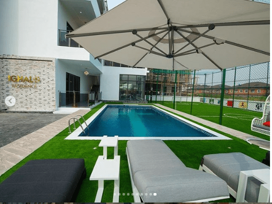 Odion Ighalos New Multi Million Naira Mansion In Lekk Lailasnews 3