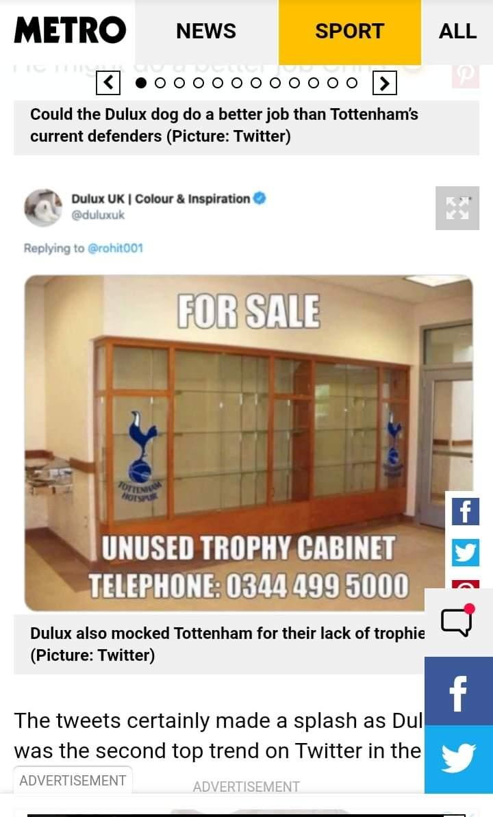 EPL: Mourinho reacts after Tottenham's new sponsor mocked Spurs' empty  trophy cabinet - Netnaija