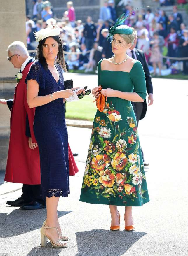 Lady Kitty Spencer in Dolce and Gabbana (Daily Mail)