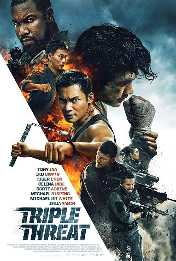 Netnaija latest Hollywood action movies, Triple Threat (2019)
