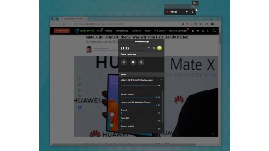 Windows 10 So Nutzt Ihr Den Integrierten Screen Recorder Netzwelt