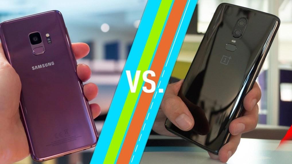 Oneplus 6 Vs Galaxy S9 Plus Top Smartphones Im Vergleich Netzwelt
