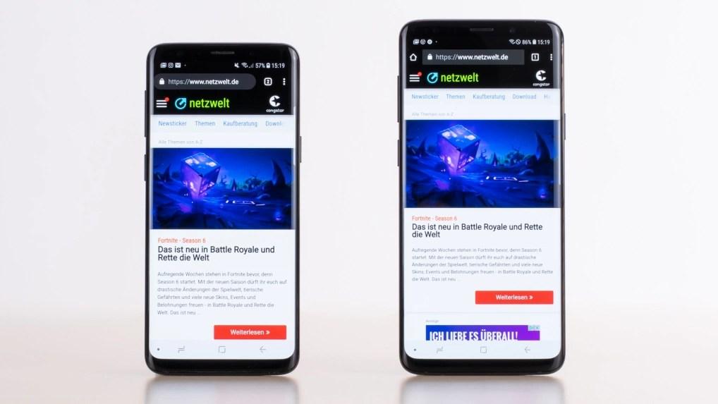 Samsung Galaxy S9 Vs S9 Im Vergleich Unterschiede Im Uberblick Netzwelt