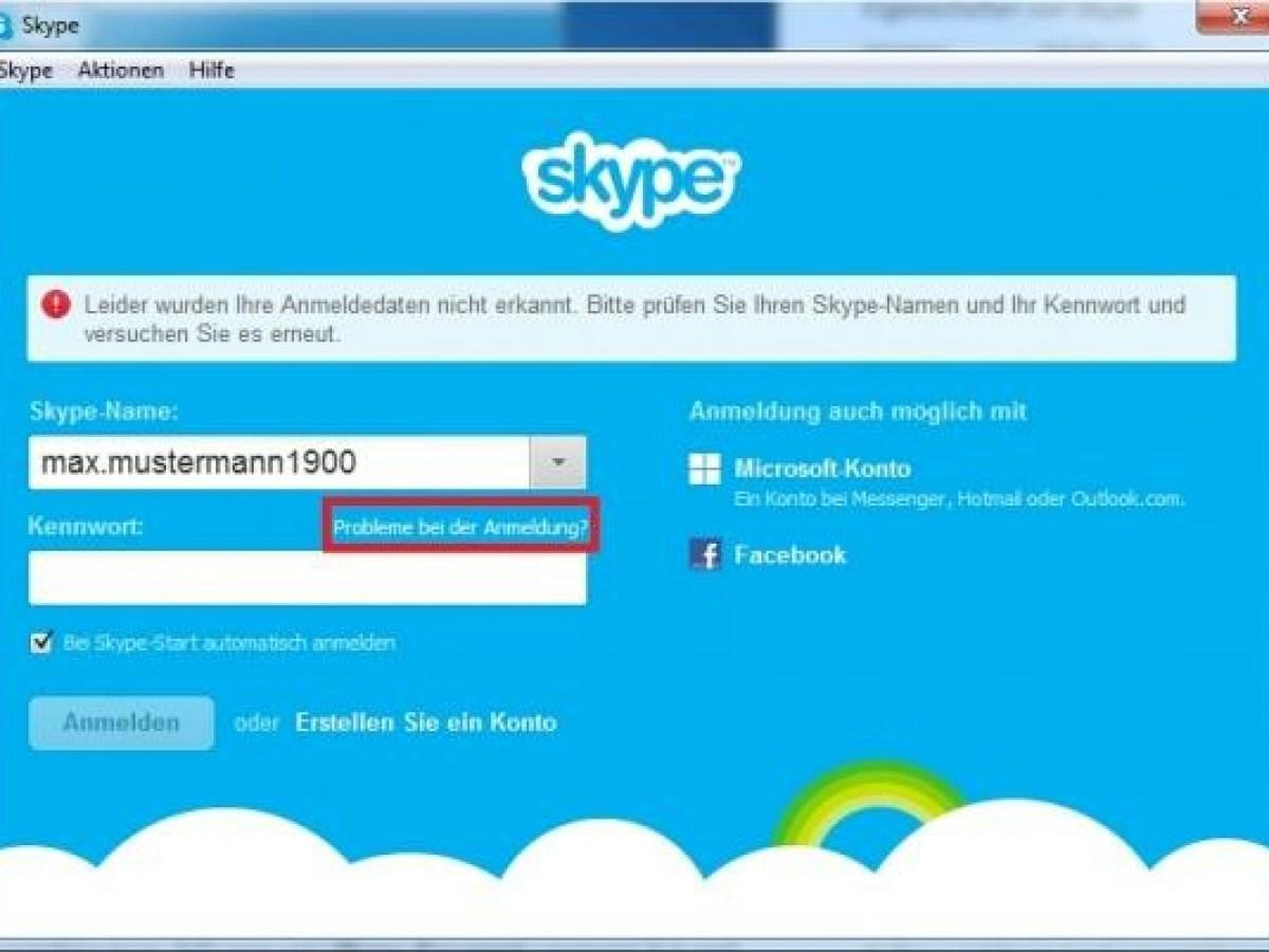 Skype Passwort Vergessen So Bekommen Sie Wieder Zugriff Auf Ihr Konto Netzwelt