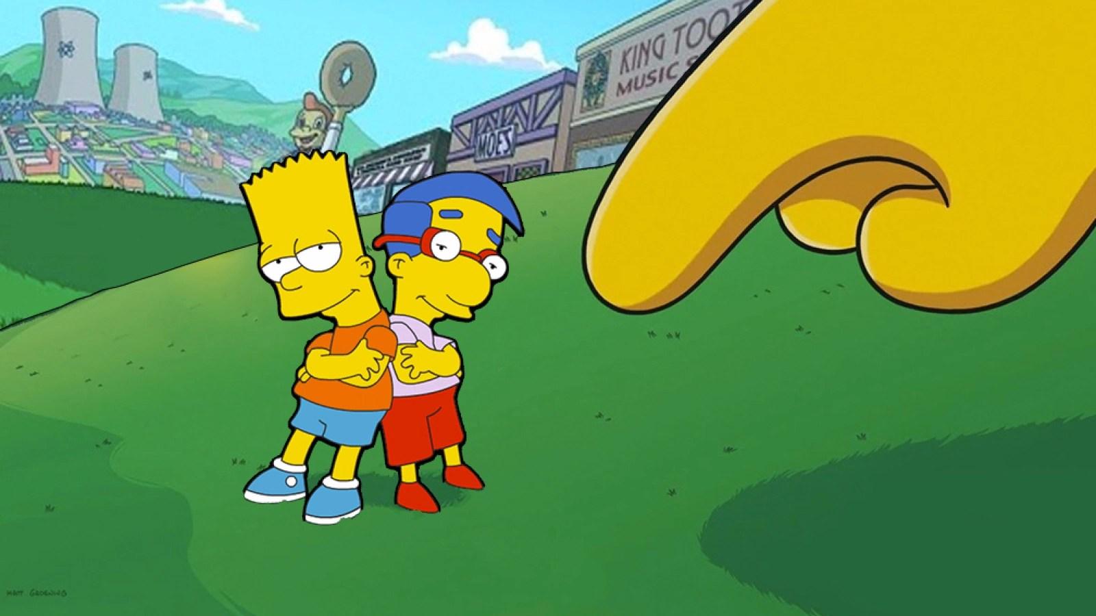 Die Simpsons Springfield Freunde Und Nachbarn Finden