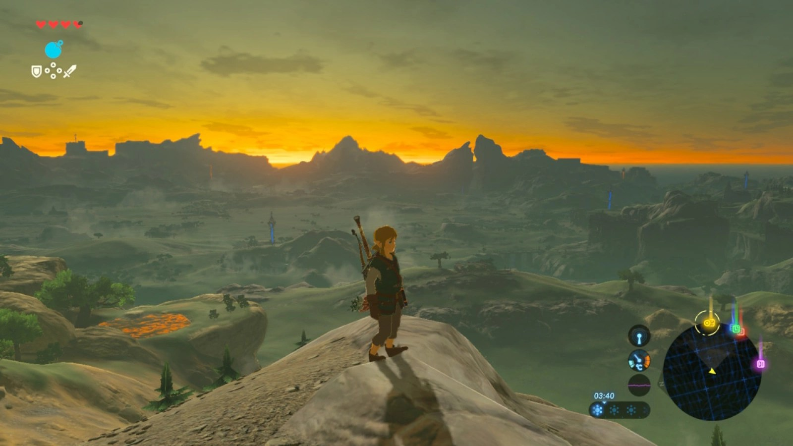 Wild Breath World Zelda