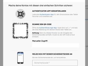 Fortnite Fortnite 2fa Aktivierung Uber Die Webseite Netzwelt
