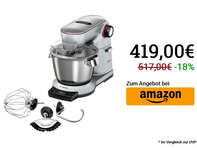 Bosch MUM9AX5S00: Küchenmaschine am Cyber Monday im ...