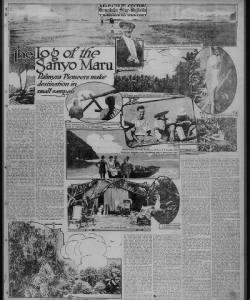 The Log of the Sanyo Maru
