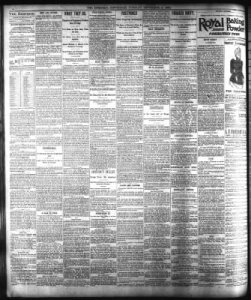 The Cincinnati Enquirer from Cincinnati  Ohio on September 8  1891     The Cincinnati Enquirer from Cincinnati  Ohio on September 8  1891      Page 4