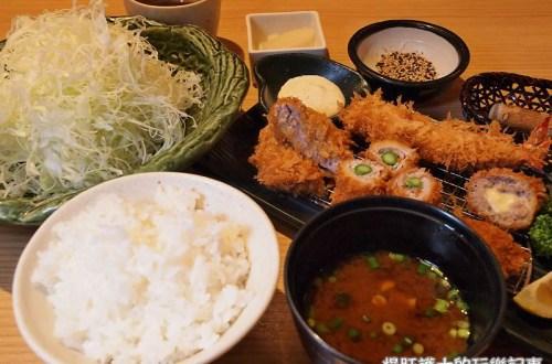 【東京美食】とんかつ 新宿さぼてん 爆炸好吃的晴空塔限定炸豬排套餐,不吃會後悔!
