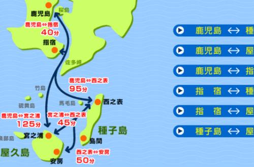 【屋久島交通】進出屋久島的交通方式