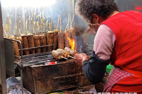 【嘉義美食】阿婆烤玉米 現點現烤平均等待一小時的排隊點心