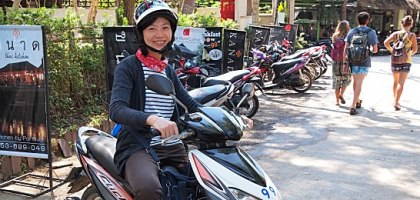 【擺鎮交通】到擺鎮租機車超方便!rent motor bike at Pai