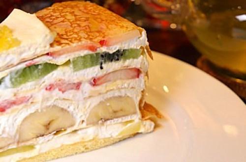 【大阪美食】HARBS 值得一吃的水果千層咖啡甜點店