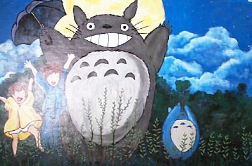 嘉義新港南崙龍貓童話彩繪村 免費出遊的好景點
