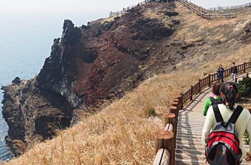 【濟州島】松岳山步道 Songak M.T. (송악산)