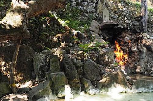 【台南】關子嶺風景區水火同源三百年