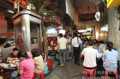 【曼谷美食】沙拉當站(sala daeng)偽泰國人路邊米粉攤體驗