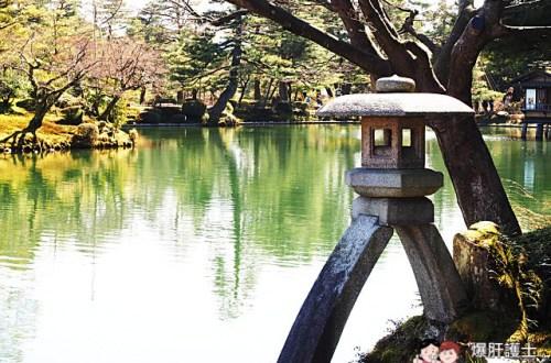 【日本金澤】 榮獲米其林觀光旅遊指南評選為三星級 必訪的日本三大名園之一 金澤兼六園