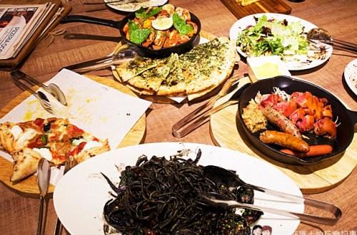 台北、大安 PIZZERIA OGGI 義大利認證手工窯烤披薩 適合多人聚餐的大份量異國料理
